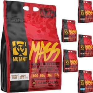 Mutant Mass 6800g Strawberry-Banana
