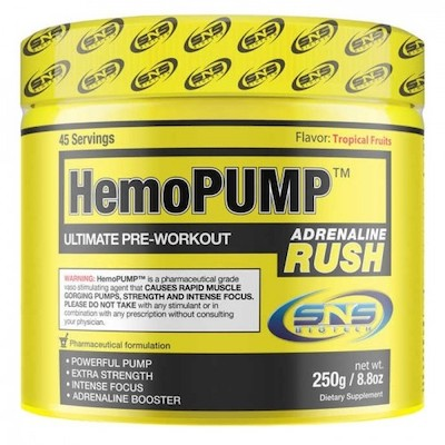 HemoPump Adrenaline Rush Tropical Fruit